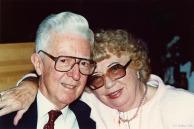 John and Ruth Rhodes, Jan's parents