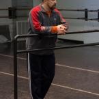 Viktor at rehearsal