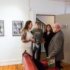 Me, Lorraine, Dennis, Lorraine's daughter - Photo by James Turner