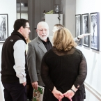 Talking with Dr. Z and his wife - Photo by James Turner