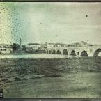 Syrie, Adana, Le grand pont sur le Saros et la ville