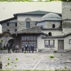 Turquie, Angora, Entrée de la Mosquée Hadji Baïram