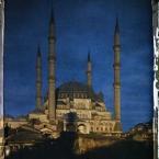 Thrace, Andrinople, La Mosquée de Sultan-Selim embrasée par le