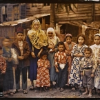Turquie, Constantinople, Groupe d'Arméniens