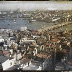 Turquie, Constantinople, Vues prises de haut de la Tour de Galat