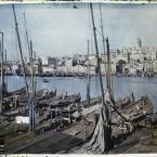 Turquie, Constantinople, Vue vers Galata et la Corne d'Or