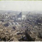 Turquie, Constantinople, Panorama vers Nouri-Osman Djami, Ste So