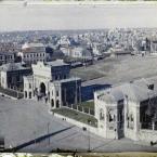 Turquie, Constantinople, Panorama vers la Mosquée Mehmet et Cha