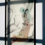 Shadows paying tribute to Mondrian