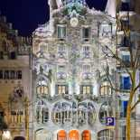 Casa Batlló at Night- Antoni Gaudi - Peter Sieger