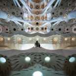 La Sagrada Familia - Antoni Gaudi - Peter Sieger (Abstract work example)