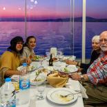 Dinner at Sehir Kulubu the first night