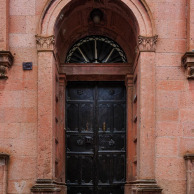 The rarely used front door