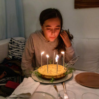 Blow the candles Mina