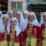 The women dancers of the Ayvalik group