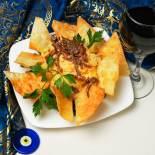 Traditional Turkish dishes, hummus