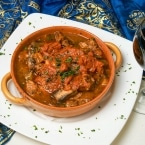 Traditional Turkish dishes, vegetable stew