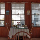 Dining Room (had breakfast at the table next to the window)