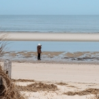 Jan at the beach