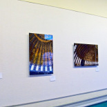 View from the exhibit by Paul White