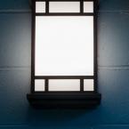 Light Fixture in the Hallway, A. C. Ekin