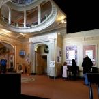 Trinity Repertory Company Lobby, Mina, Elif, David