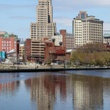 Industrial Trust Building, and icon in Providence