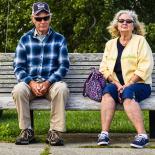 Resting spectators