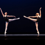 Agon 4 Congratulations to Kirsten (on the right) who got promoted to company dancer last night