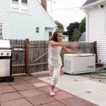 Mina dancing