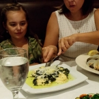 Mina's Ravioli and Elif's Clam Zuppa