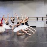 FBP Company (Fairies) in Prologue rehearsal