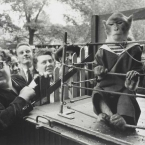 Robert Doisneau - Superior Animals - Only the monkey looks like the adult in the room!