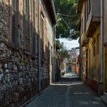 Narrow streets of Ayvalik