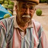 A merchant at the market