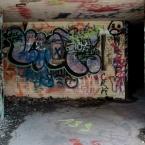 Fort Whetherill bunkers as graffiti art center