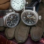 German quality, aviator, adventure motif, note the pulled out crowns in unfinished photo