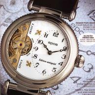 Epos ad as appeared in International Wristwatch Magazine