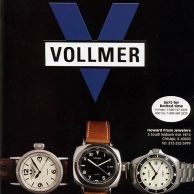 Vollmer ad as appeared in International Wristwatch Magazine