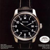 Eklund ad as appeared in International Wristwatch Magazine