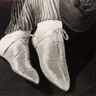 Ilse Bing - Gold Lame Shoes