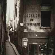 Jean Eugene Auguste Atget - Rue de Chantres