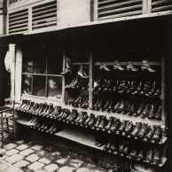 Jean Eugene Auguste Atget - Shoe Store