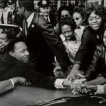 Leonard Freed - Dr. Martin Luther King, Jr.-Motorcade
