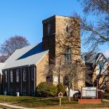 Asbury Methodist Church (Fair St. + Ann Mary Brown Dr.)