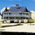 Houses on Pawtuxet cove