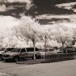 A parking lot
