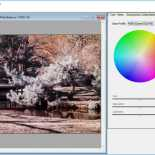 Open an IR image in DNG Profile Editor