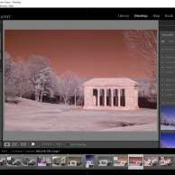 Restart Lightroom, select the image, profile browser, User Profiles