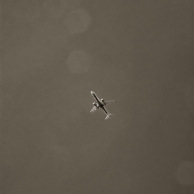 Plane overhead near RI Yacht Club
